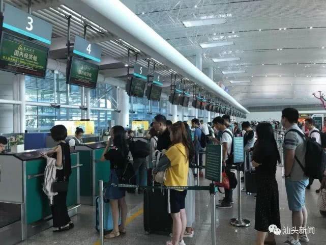 首破500万!潮汕机场迈入国内中型机场行列?