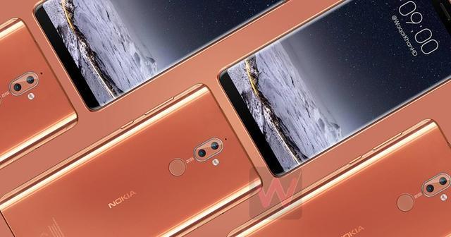 全屏加持:Nokia 9外型首次曝光