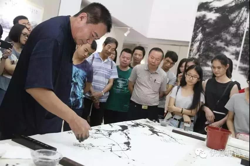 快意丹青-李永平中国画展亮相岭南美术馆
