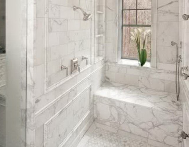 有钱好任性,卫生间装修用大理石,不怕摔倒吗?