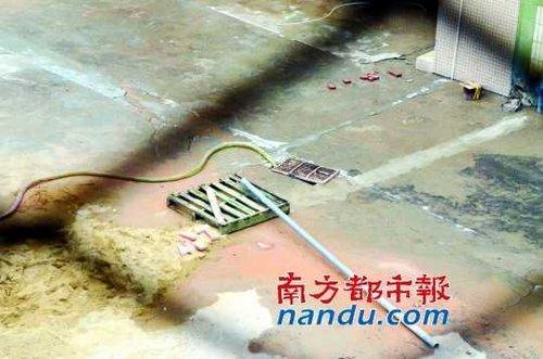 東莞電鍍廠猛排污水 老板稱環保關系很硬