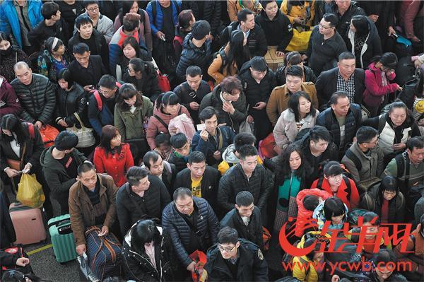 172万人!广铁发送旅客 达节前最高峰 今将加开高铁63.5对