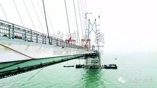 港珠澳大桥明年夏季通车