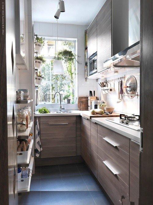 小户型厨房装修技巧,如何将小厨房升级大空间?