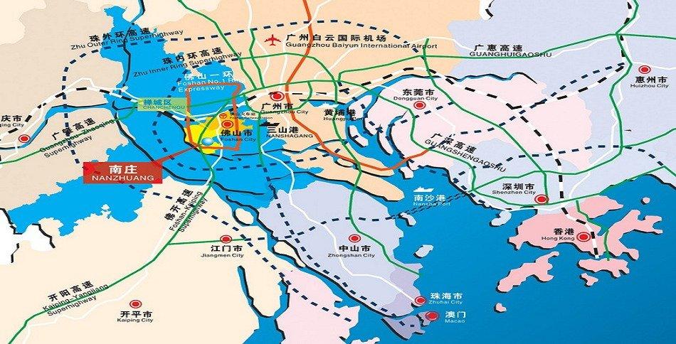 南庄区规划图