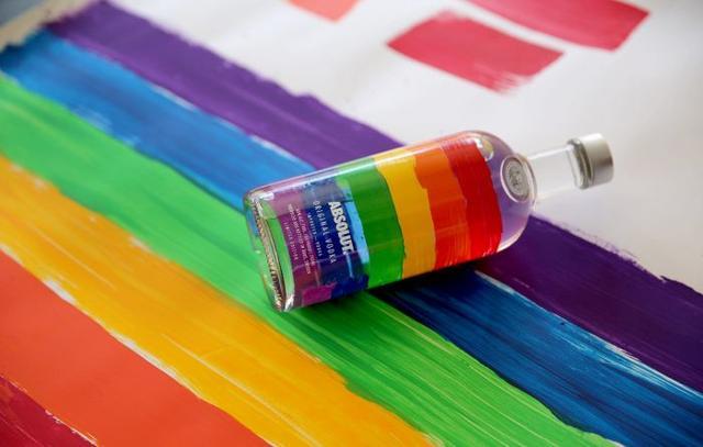 你喝的不是酒 是彩虹