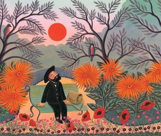 亨利·卢梭:心里有片伊甸园