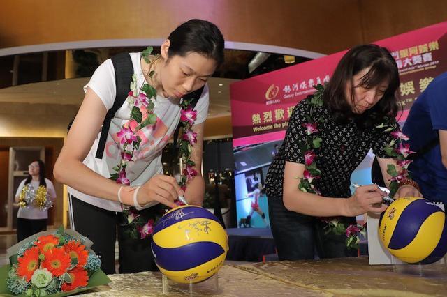女排大奖赛 中国女排新军抵澳门