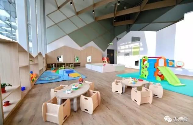 香港国际机场都有幼儿园?