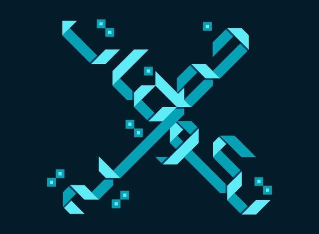源自折纸艺术的阿拉伯语字体
