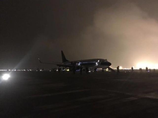 南航一航班飞行途中突然火警灯亮了 紧急降落