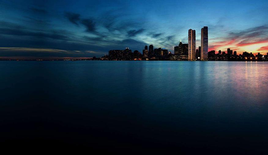 海上看深圳