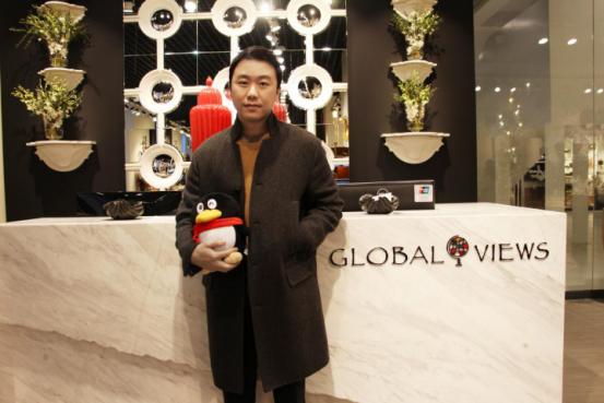 环球视野贸易Andy Shin:放眼全球 打造高端饰品品牌