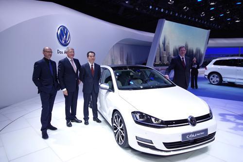 创 享 高品质 一汽 大众全系车型亮相北京车展高清图片