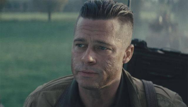Brad pitt fury haircut name