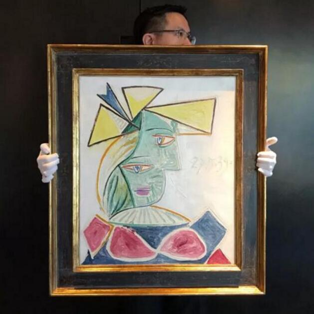 毕加索《戴帽女子头像》拍卖所得将惠及多间慈善机构