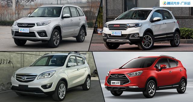 8万元能买啥 4款自主小型SUV推荐高清图片