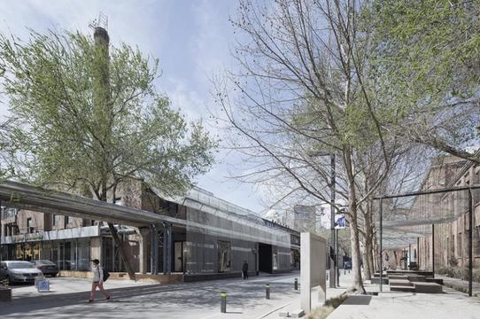 798木木美术馆入口改造 by 直向建筑 vector architects