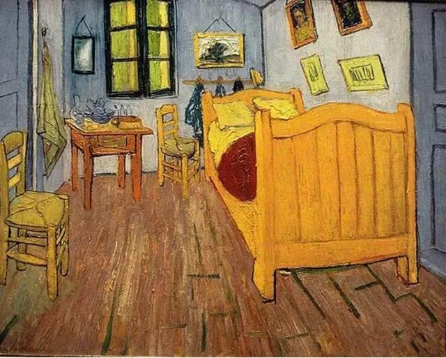 这个丧心病狂的强迫症晚期艺术家肢解了世界名画!梵高、席勒也没能幸免......