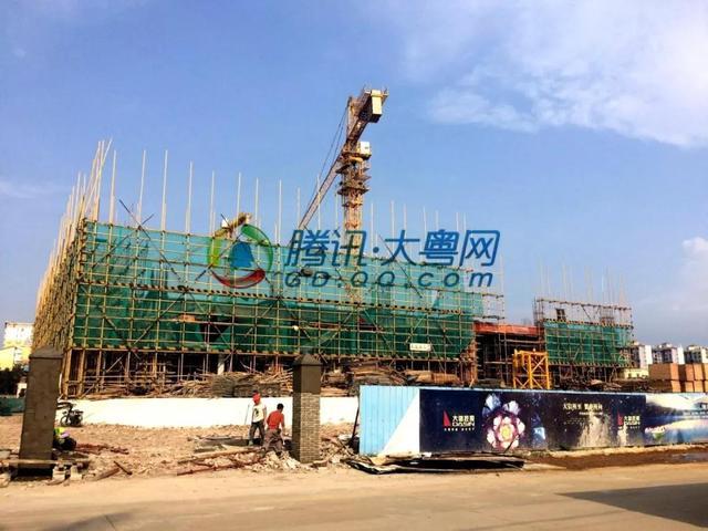 总建面超12万�O 中山三角镇大信主体工程动工!