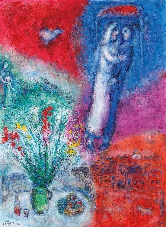 每幅画里都有你:夏加尔的爱与色彩