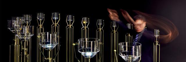 Swarovski机械水晶乐器展