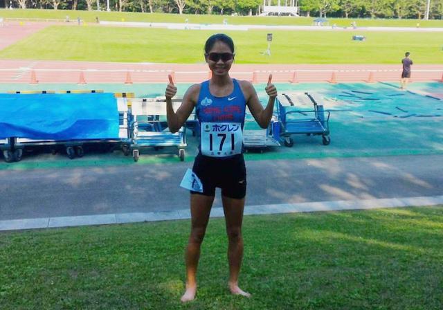 程小雅刷新女子5000米竞走港绩