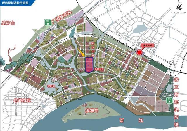 厉害了!肇庆新区将建400米高新地标!