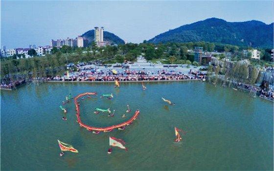 2017南海百舟竞渡龙舟邀请赛于17日举行