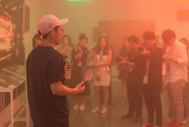 """陈维个展""""你今晚去边""""在广州chi K11艺术空间举办"""