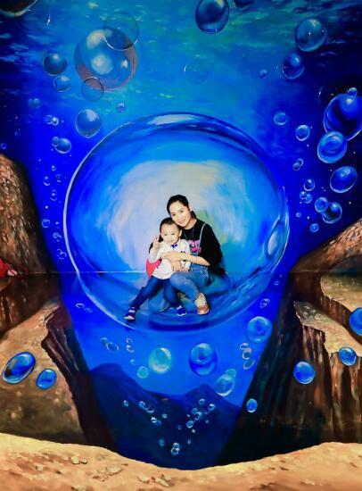 """知名中国4D错觉艺术家万氏兄弟亮相花都 邀您到骏壹万邦广场经历一场""""感观风暴"""""""