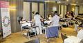 太阳城集团员工捐血 奉献爱心
