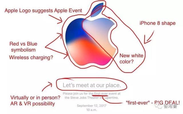 13日见新iPhone!邀请函揭示五项秘密