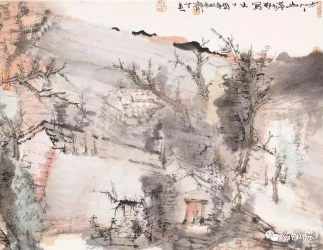 """岭南美术馆即将呈现:""""逸境心影——写意国画青年艺术家作品提名展"""""""
