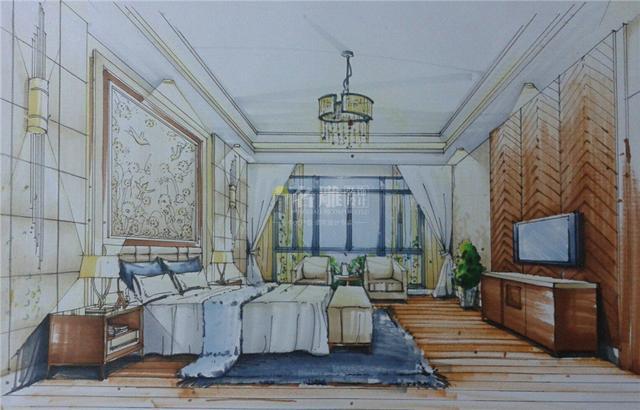 父母房手绘图