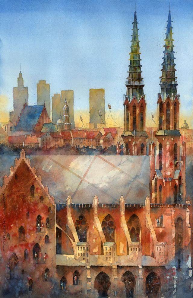 梦中的城市 by Tytus Brzozowski
