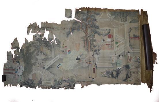 广东美术作品保存修复研究展首次亮相广美美术馆,传播美术品保护修复理念