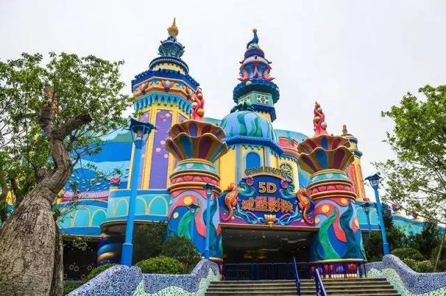 珠海横琴长隆实现了中国主题公园品牌零的突破.图片