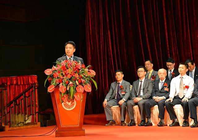 何厚铧出席南海政协历届港澳委员联谊会成立大会