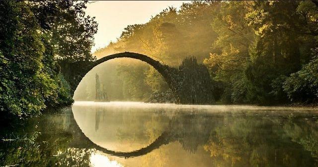 德国魔鬼桥 通往另一世界的入口