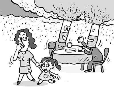 儿童禁止吸烟简笔画