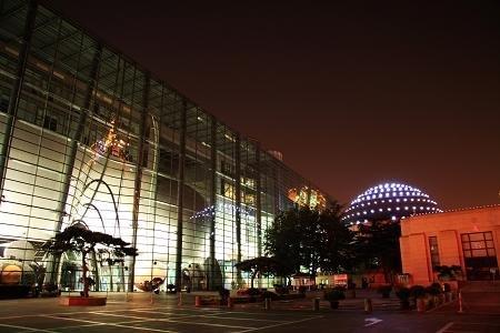 北京天文馆熄灯参与地球一小时