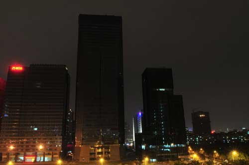 故宫为地球熄灯一小时 全球超10亿人共同参与