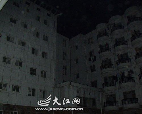 """图文:江西高校纷纷响应""""地球一小时""""活动"""