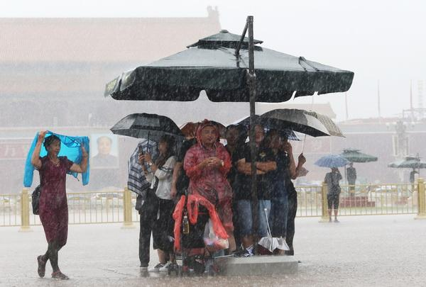 """北京本轮降雨持续近58小时,最大小时雨强超过""""7.21"""""""