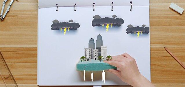 """【益视频】三分钟!手把手教你用""""海绵""""建造一座城市"""