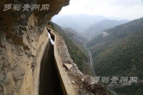 贵州遵义:82岁愚公曾带村民绝壁上凿出生命渠