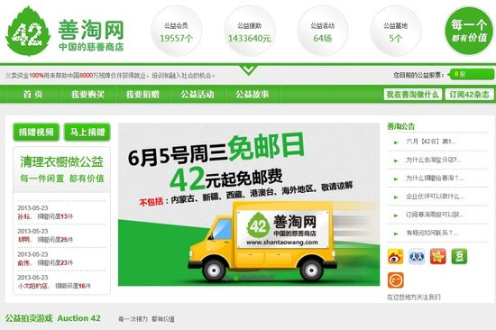 【公益创新计13】善淘网:网络上的慈善商店