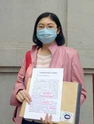 黄欢去人力资源和社保局反映患者医保问题