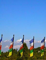 在纳加廓特可以遥望到马拉雅郎当段的雪峰